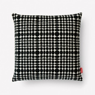 Maharam Unisol Pillow, Black/White