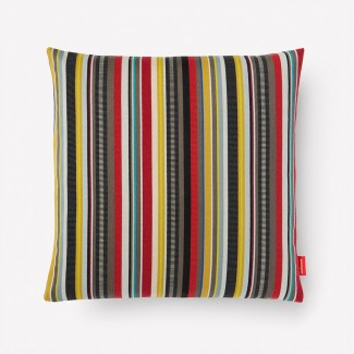 Maharam Ottoman Stripe Pillow, Brass