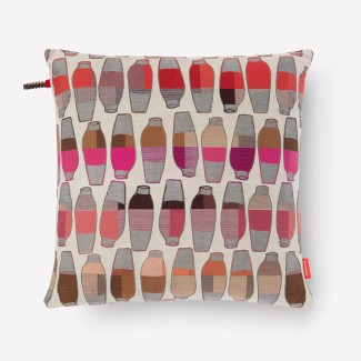 Maharam Vases Pillow, Berry
