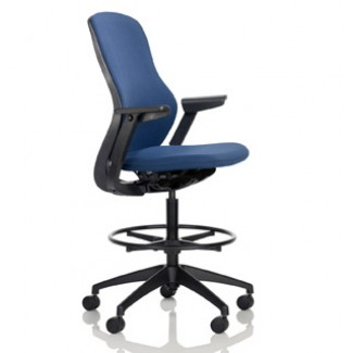 Knoll ReGeneration - Fully Upholstered High Task Chair