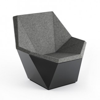 Knoll David Adjaye - Washington Prism Lounge Chair