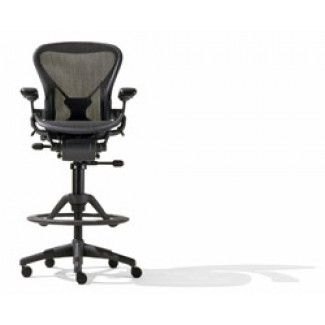 Herman Miller Aeron® Chair - Fully Loaded Aeron® Work Stool