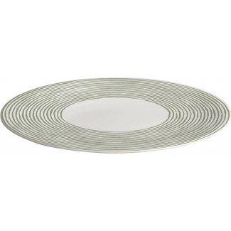 Alessi Acquerello Round Serving Plate