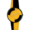 Alessi Luna Wrist Watch-Yellow/Yellowbl- AL8014
