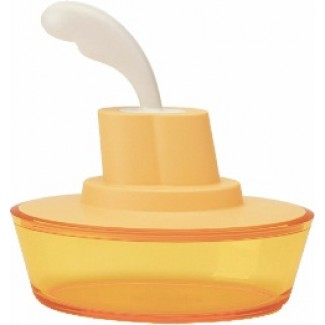Alessi Ship Shape Container With Small Spatula ASG13