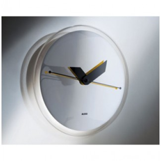 Alessi Sole-Mirror Wall Clock Am31 4