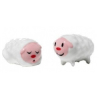 Alessi Tiny Little Sheep Set of Two Figurines