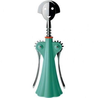 CLEARANCE - Alessi Anna G. Corkscrew, Green