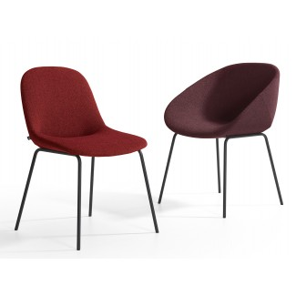 Artifort Beso Steel Legged Chair