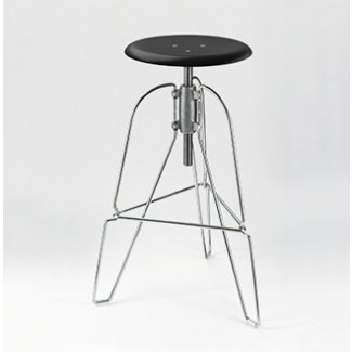 Jeff Covey Model 6 Stool Black Seat