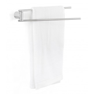 Blomus DUO polished Towel Rail, 2 Arm
