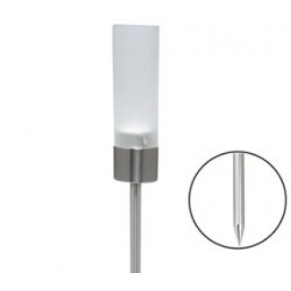 Blomus FARO Tealight Holder, Frosted Glass with Stake
