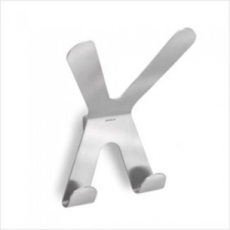 Blomus Vasco Double Wall Hook - Flat