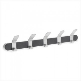 Blomus Venea Black Coat Rack with 5 Hook