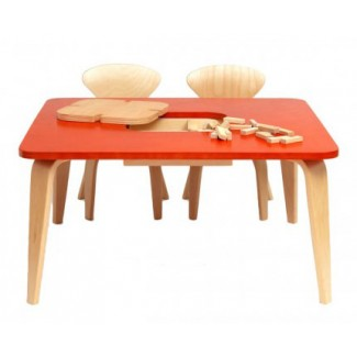 Cherner Children's Classroom Table W/Storage Box