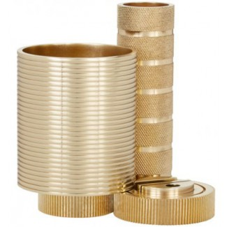 Tom Dixon Cog Desk Tidy Brass