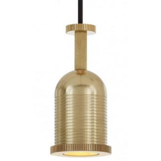 CLEARANCE - Tom Dixon Cog Dome Pendant, Brass
