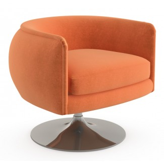 Knoll Joseph Paul D'Urso - Swivel Lounge Chair
