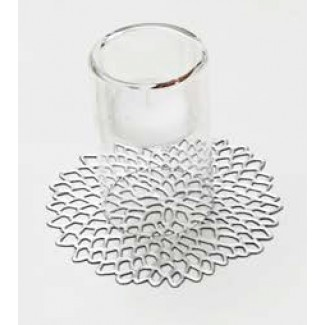 Chilewich Dahlia Coaster, Set of 6