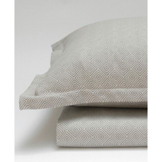 Area Bedding Dia Grey Pillow Cases