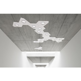 Lumen Center Domino Modular Ceiling Lamp