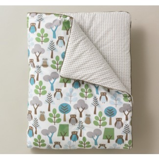 CLEARANCE - Dwellstudio Owls Sky Play Blanket