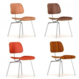Herman Miller Eames® Molded Plywood Dining Chair - Metal Legs