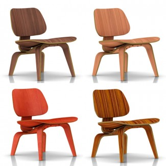 Herman Miller Eames® Molded Plywood Lounge Chair - Wood Legs