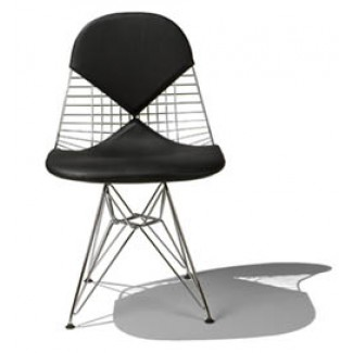 Herman Miller Eames® Wire Chair - with Bikini Cushion