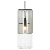 Tom Dixon Flask Pendant Smoke Long Lamp