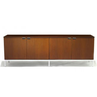 Knoll Florence - Credenza - Four Position (Four Storage Cabinets) Style 1