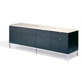 Knoll Florence - Credenza - Four Position (Four Storage Cabinets) Style 4