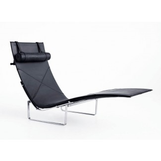 Fritz Hansen PK24 Chaise Leather Chair
