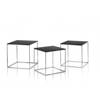 Fritz Hansen PK71 Nest of 3 Tables