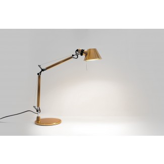 Artemide Tolomeo Micro Table Lamp, Gold (Limited Edition)