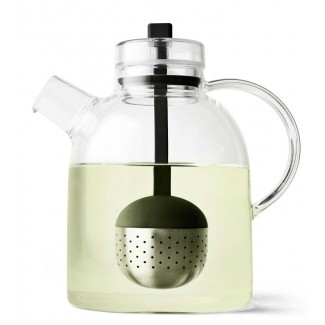 Menu Kettle Teapot Glass w/ Tea Egg