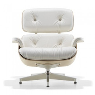 Herman Miller Eames® Lounge Chair White Ash