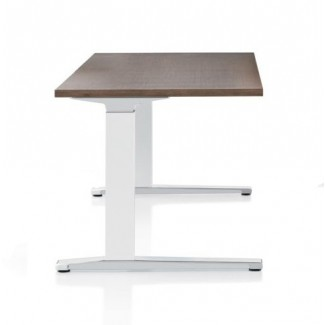 Herman Miller Renew Sit-to-Stand Table Rectangular C-Foot