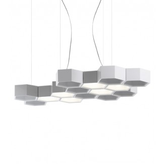 Luceplan Honeycomb Suspension Lamp