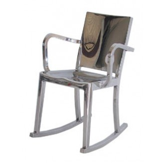 Emeco Hudson Rocking Chair With Arms