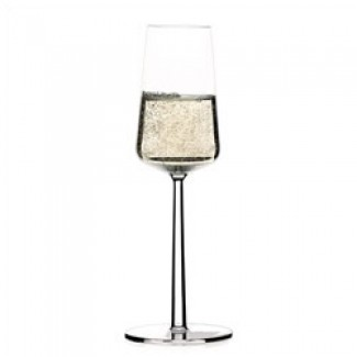 Iittala Essence Set of Two Champagne Flutes