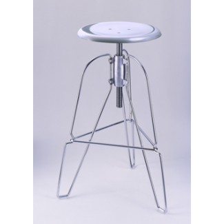 Jeff Covey Model 6 Stool Aluminum seat