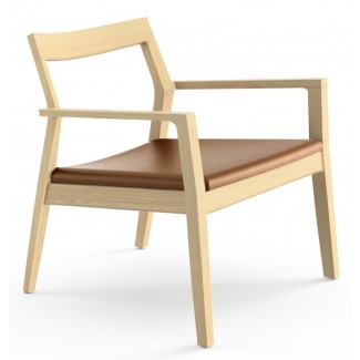 Knoll Marc Krusin - Guest Seating Collection Krusin Lounge Chair With Arms