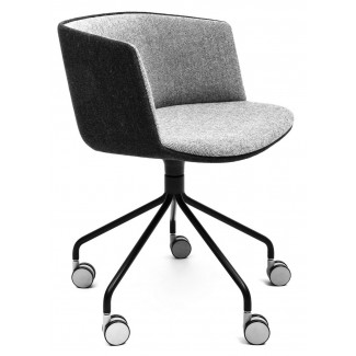 Lapalma Cut swivel Base Armchair w/ Gliders