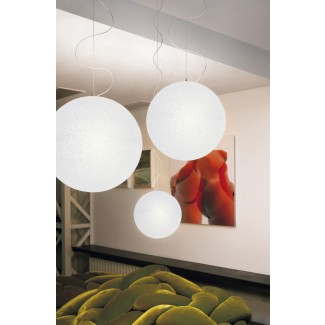 Lumen Center Iceglobe Maxi S Suspension Lamp