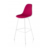Herman Miller Eames® Molded Plastic Stool Upholstered Shell