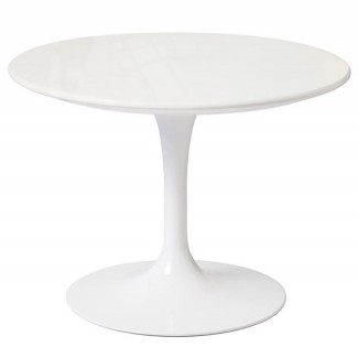 Knoll Eero Saarinen Small Round Side Table, Outdoor
