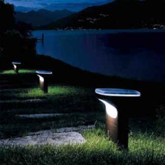 Luceplan Sky Floor LED Lamp Low