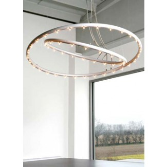 Lumen Center Hula OP Doppia Suspension Lamp