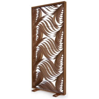 LZF Standing Paisley White Screen Lamp